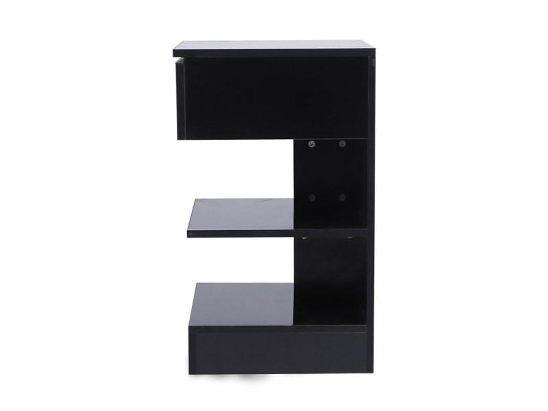 Table de chevet hombuy de style minimaliste scandinave noir