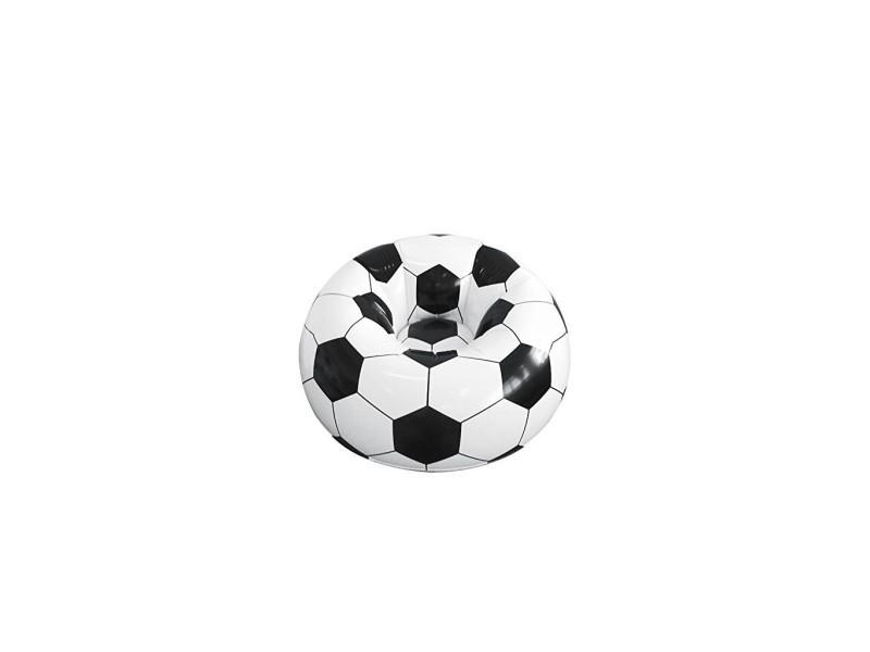 Fauteuil ballon de foot gonflable pour la maison ou le jardin