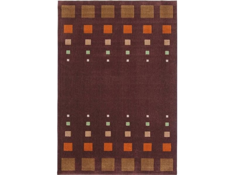 Tapis style de 40 marron orange 2A72W-160-230-E - Vente de ...