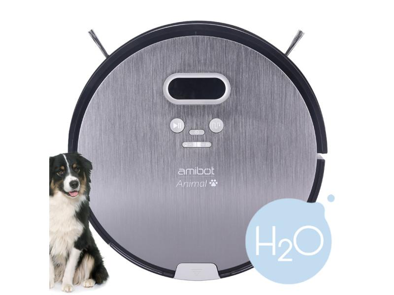 Amibot animal premium h2o - robots aspirateurs et laveurs spécial poils d'animaux AMIBOT Animal Premium H2O