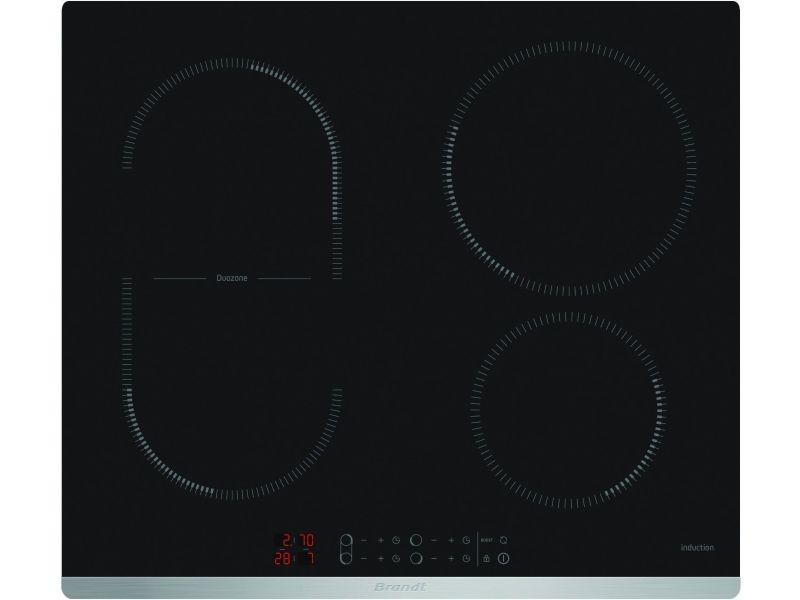Plaque induction brandt 7200w 58cm, bpi 6425 x