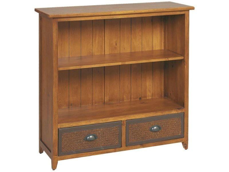etag re en pin et bambou teint s vente de biblioth que conforama. Black Bedroom Furniture Sets. Home Design Ideas
