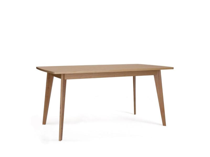 Table à manger extensible 160(200)cm bois kensal - couleur - bois massif 104111001012