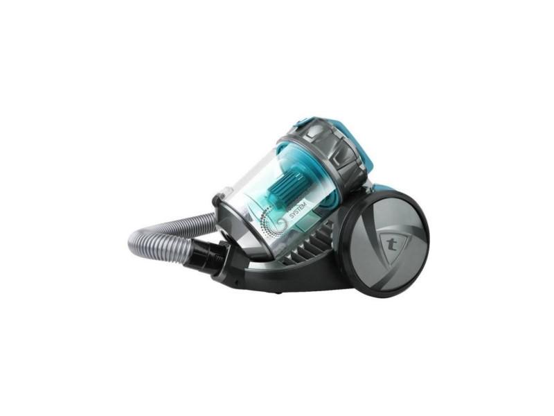 Dynamic eco turbo aspirateur sans sac - 700 w - capacité 2 l - bleu et gris TAU8414234489913
