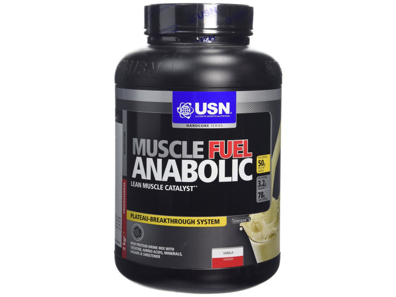 Usn - muscle fuel anabolique vanille 2 kg