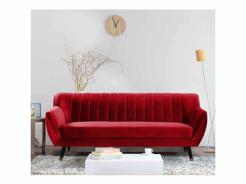 Canape Deco Rouge