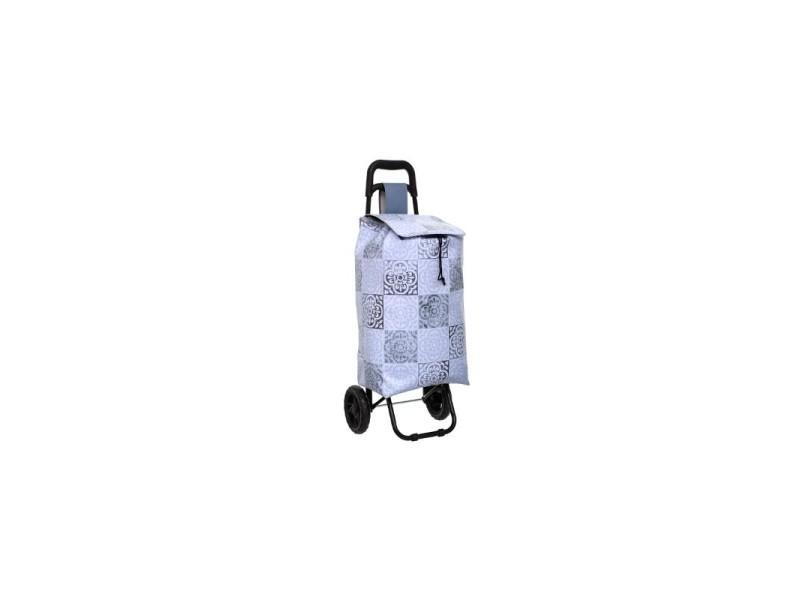 Chariot de course en pvc - ciment