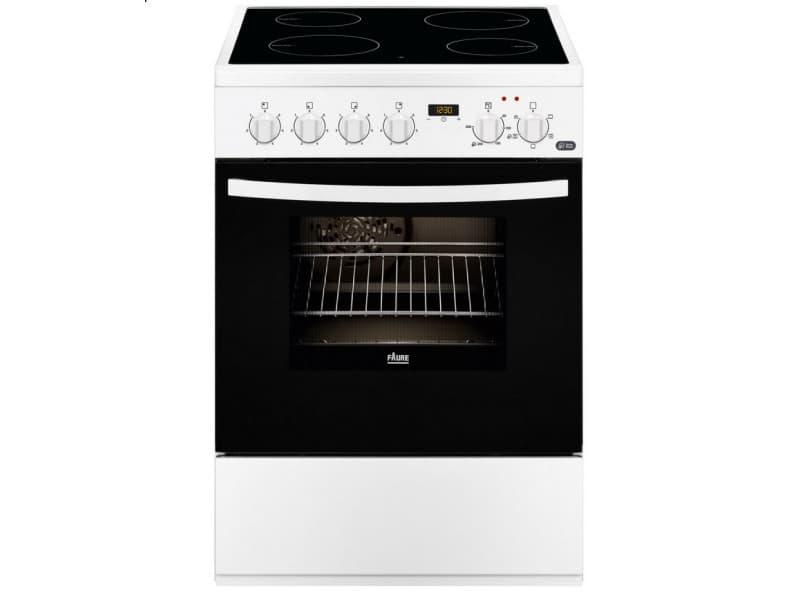 cuisini re lectrique a 56l 4 feux blanc fcv6530cwa fcv6530cwa conforama. Black Bedroom Furniture Sets. Home Design Ideas
