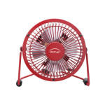 Ventilateur de table minifan rouge