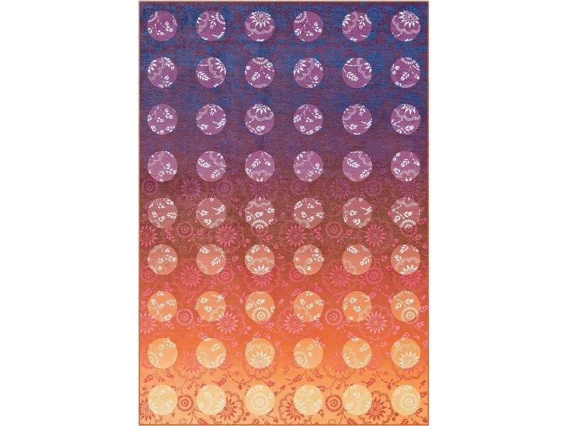 Tapis flash 2706 violet orange XBKUR-160-230-E