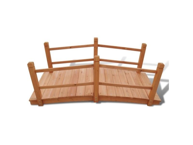 Vidaxl pont de jardin 140 x 60 x 56 cm 41300