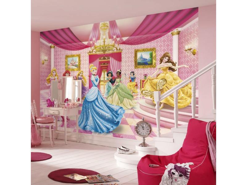 Papier peint salle de bal des princesses disney - Vente de Chambre ...