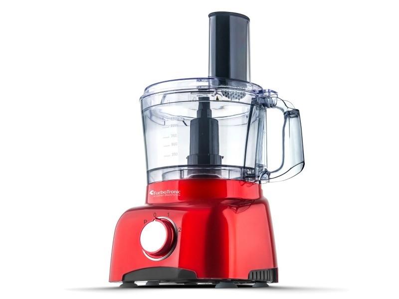 Robot de cuisine turbotronic fp800 800 w - rouge 4260563032702