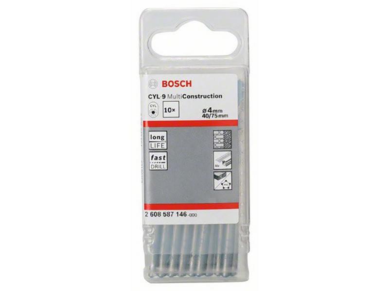 Bosch cyl-9 4mm 10 pièces 2608587146