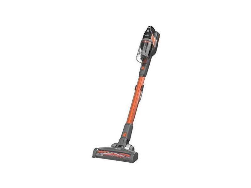 Black decker bhfev182c-qw aspirateur balai powerseries - sans fil - autonomie 58 min - 650l - batterie inclus - orange BLA5035048715406