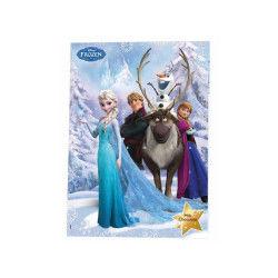 Calendrier de l'avent la reine des neiges (frozen)