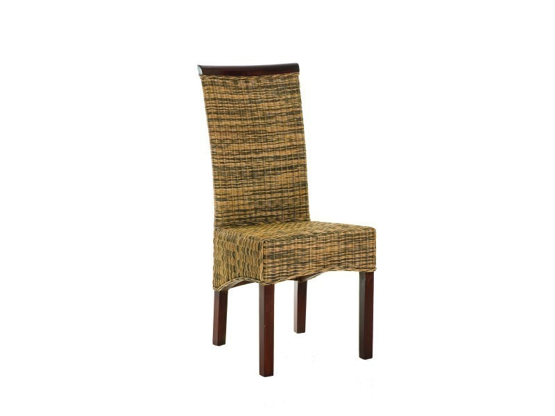 Chaise Rotin Bi Couleur