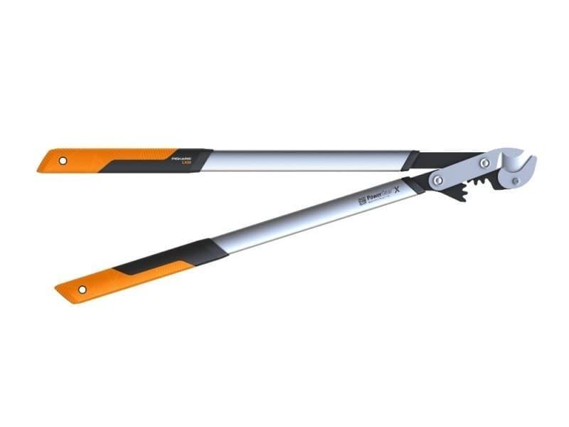 Fiskars - coupe-branches powergear x - l à crémaillère et à enclume 80 cm - ø 55 mm 112440
