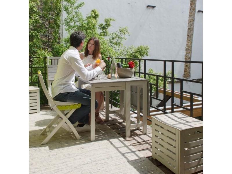 Salon haut de jardin 4 personnes - burano - Vente de CITY ...