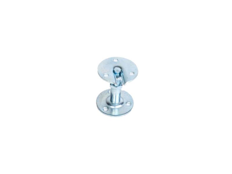 Support de rampe droit - en acier zingué - réglable 55 à 70 mm 175434