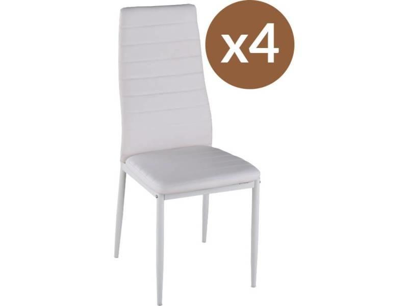 Lot de 4 chaises \