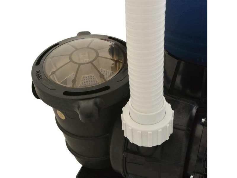 Vidaxl pompe de filtration à sable 1000 w 16800 l/h xl 91170