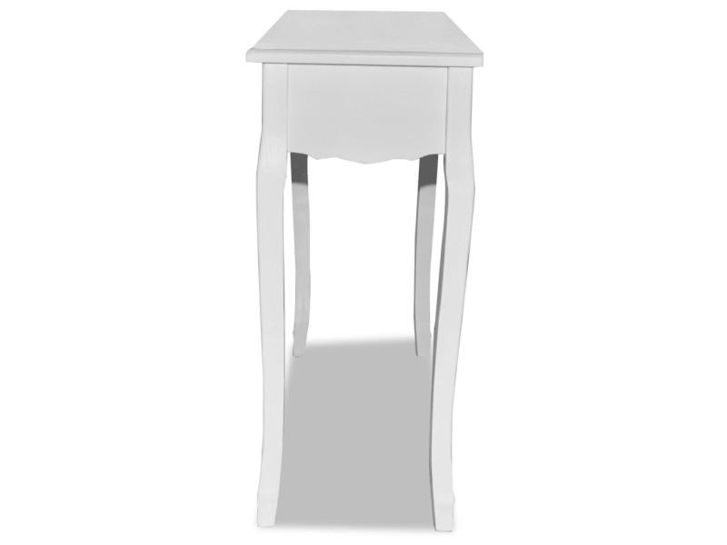 Coiffeuse blanche meuble d 39 entr e helloshop26 1402007 vente de chiffonn - Conforama meuble entree ...