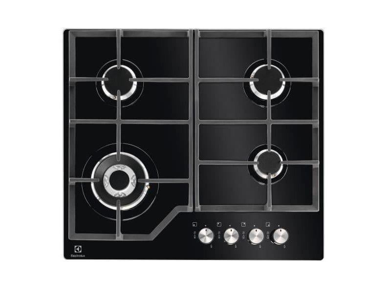 Table de cuisson gaz 59cm 4 feux 8900w noire - kgg6436k kgg6436k