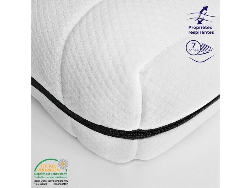 Matelas 90 x 190 cm matelas ferme confortable pas cher matelas sommeil réparateur épaisseur 15 cm
