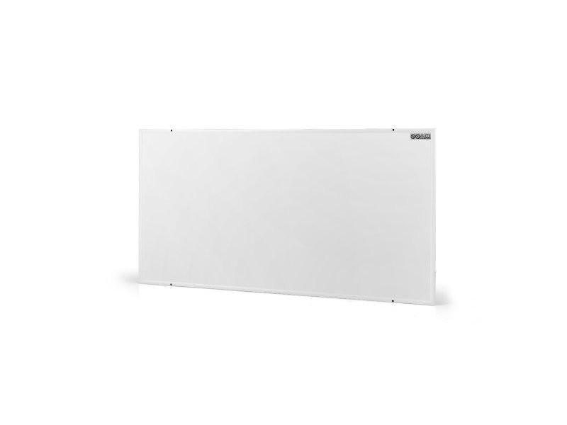 Radiateur électrique panneau 520 watts 920 x 620mm chauffage électrique mural rayonnant blanc helloshop26 20_0001038