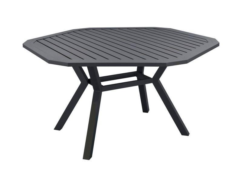 Table de jardin en aluminium ayma 150 cm - Vente de HEVEA - Conforama