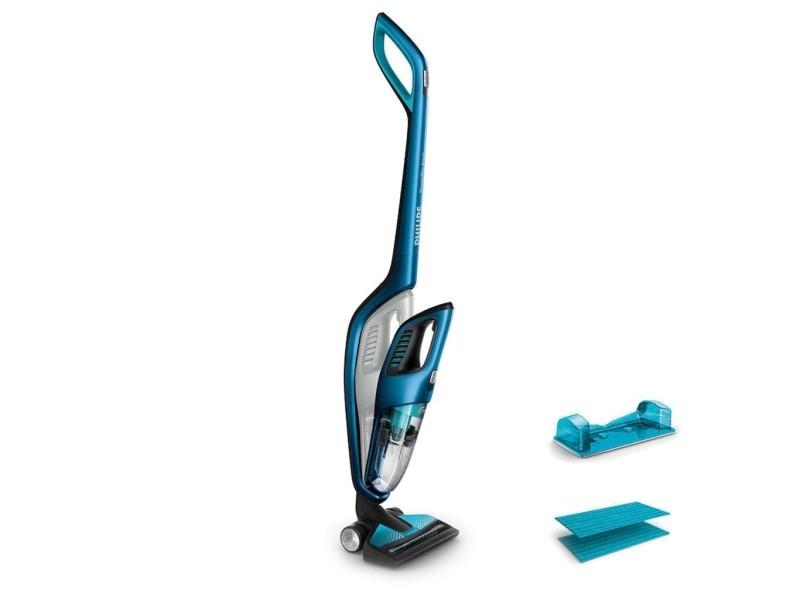 Philips powerpro aqua système d'aspiration et nettoyage bleu denim 18v fc6405/01