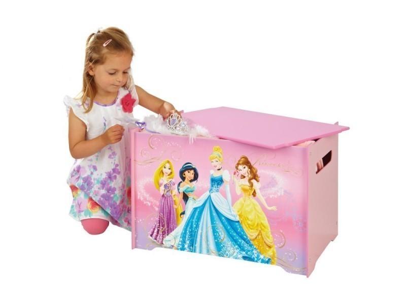 coffre jouets pour fille princesse disney conforama. Black Bedroom Furniture Sets. Home Design Ideas