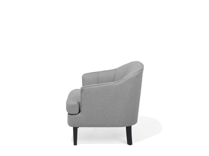 en Fauteuil elverum fauteuil gris 24098 tissu tapissé HEWD29I