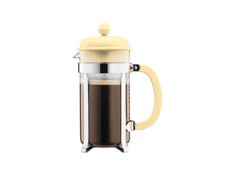 Caffettiera cafetiere a piston - 8 tasses - 1 l - jaune pastel BOD0699965420017