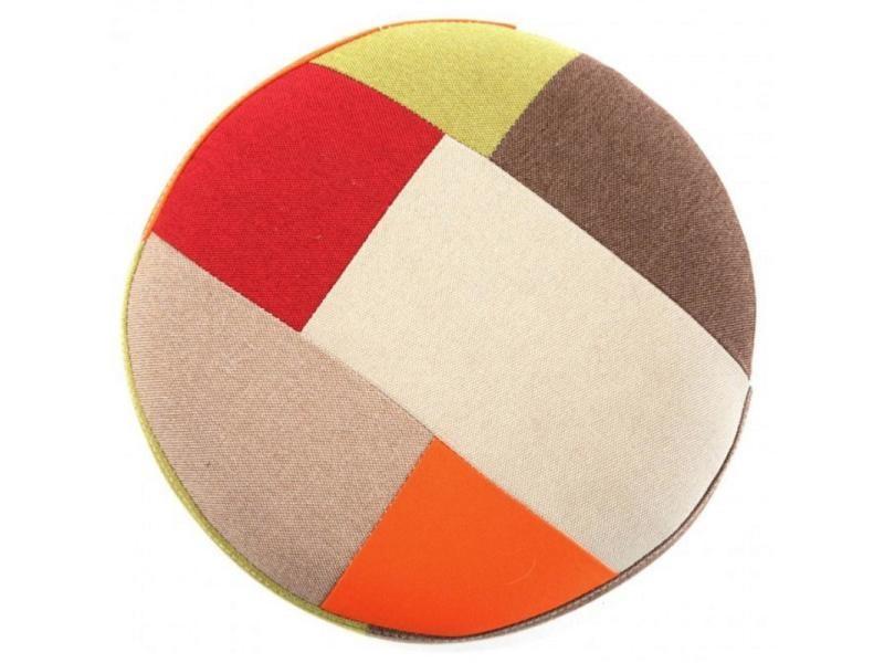 tabouret patchwork rouge vente de chaise de cuisine conforama. Black Bedroom Furniture Sets. Home Design Ideas