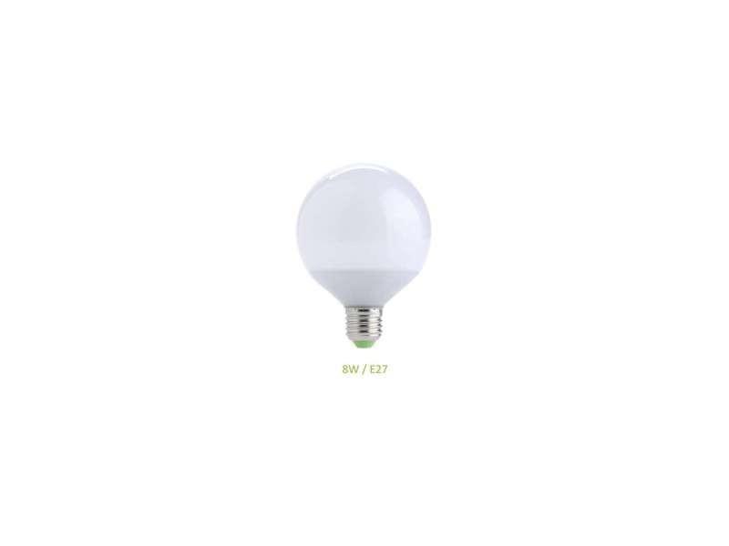 Ampoule e27 8w globe g70 led - blanc chaud 3000k EC-3006