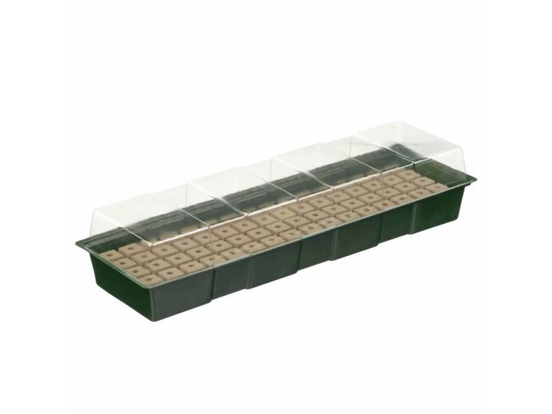 Inedit plantes collection freetown nature kit de mini propagateur 4x16 cellules