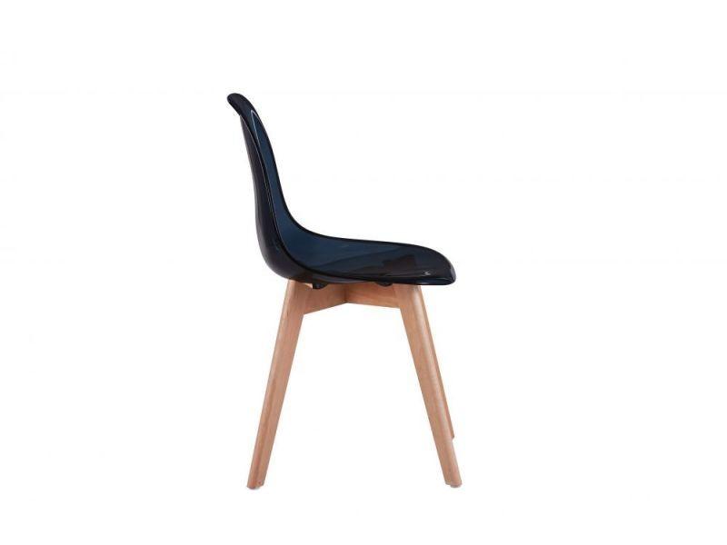coque pieds de Lot lund chaises 2 et scandinaves transparent I76yYbfgv