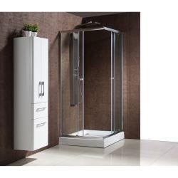 Le jubba : paroi de douche d'angle, l 90 x l 90 x h 198 cm, receveur inclus