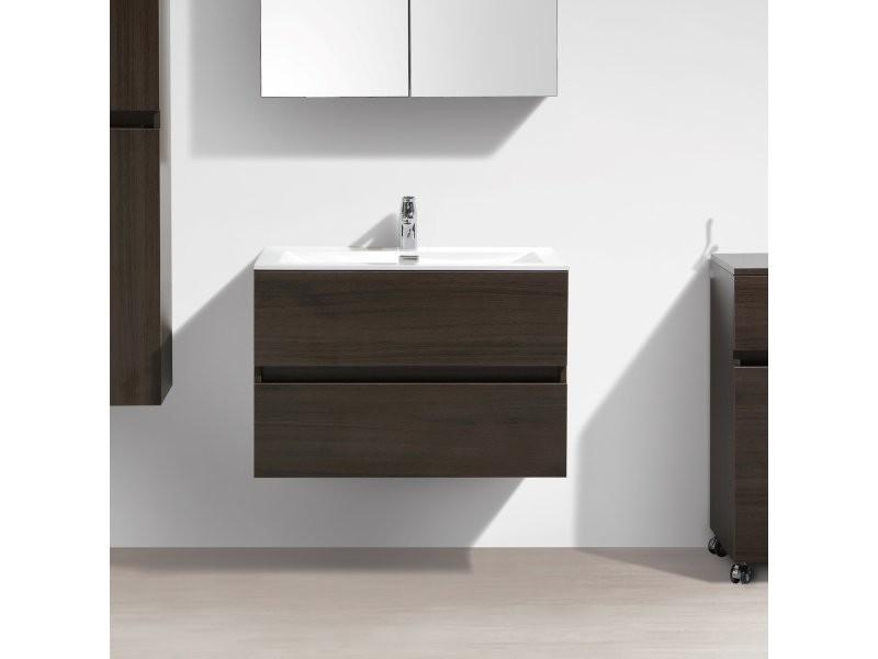 Meuble Salle De Bain Design Simple Vasque Siena Largeur 80