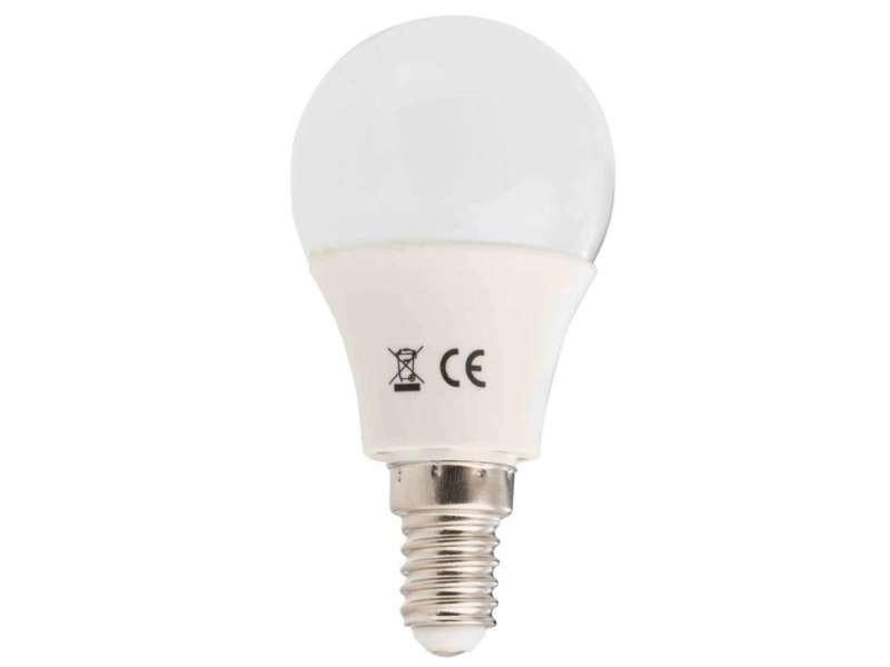 Ampoule led ronde e14 4w blanc/froid