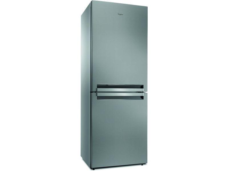Réfrigérateur combiné 444l froid ventilé whirlpool 70cm a+, btnf 5011 ox 1