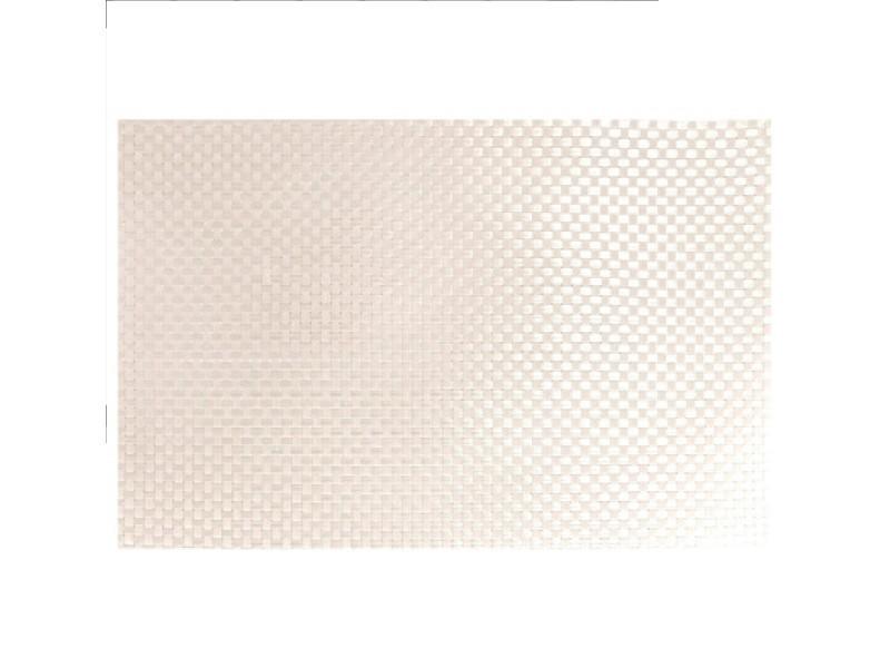 Set de table 32 x 47cm tresse blanc