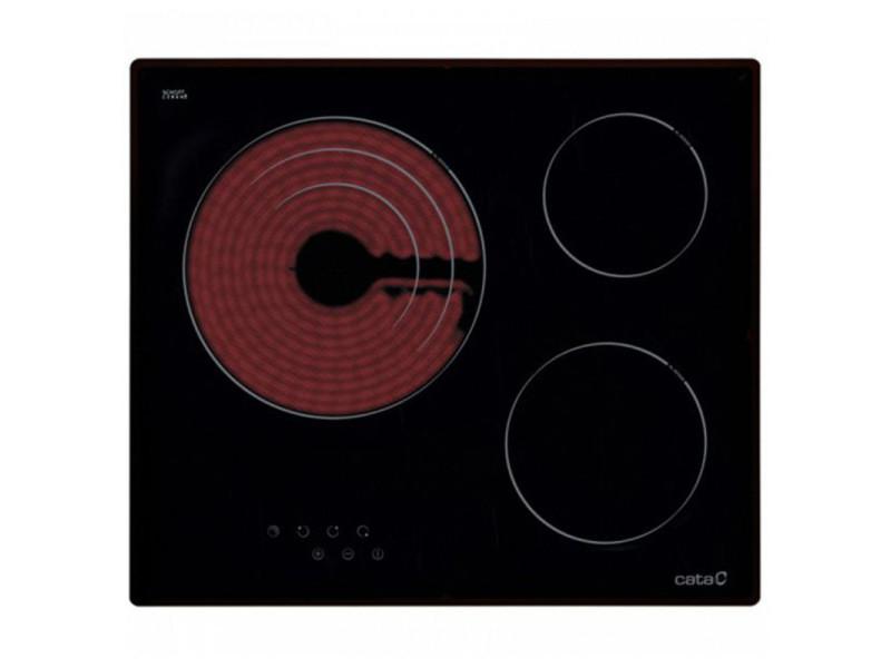 Cata table de cuisson vitrocéramique tt 603 60cm noire 11602