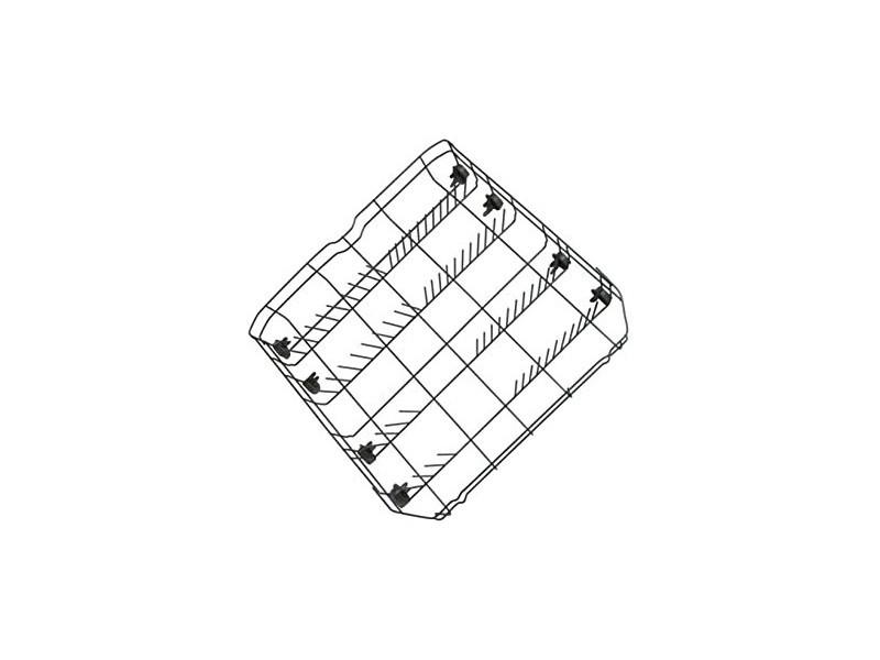 Panier inférieur 52,5 x 52,8 x 12 cm lave-vaisselle beko 1758972600