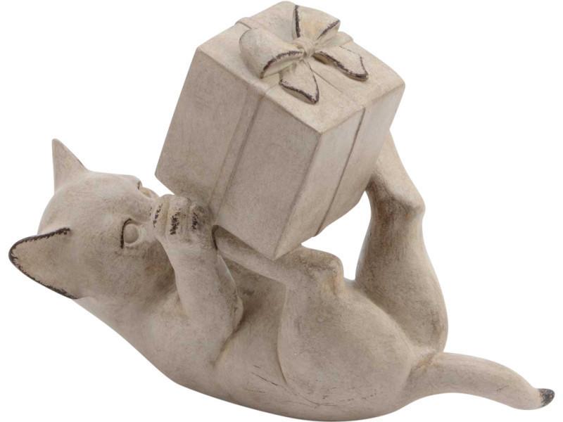 Statuette chat hugo vente de amadeus conforama