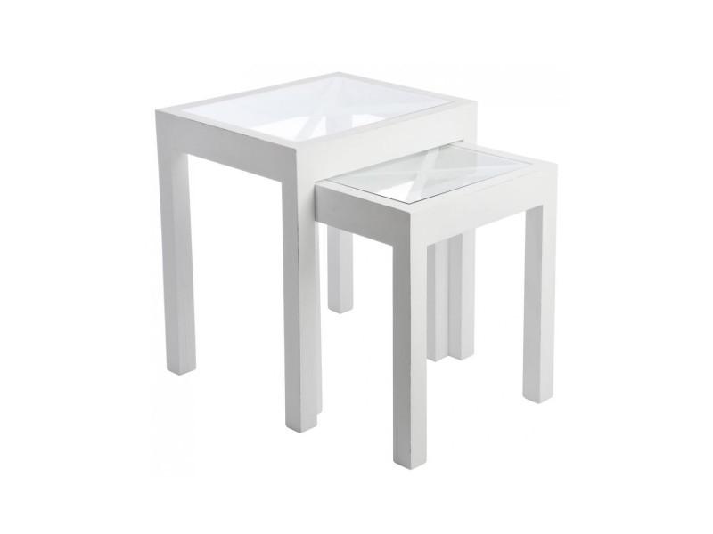 Table gigogne - 1 pièce modele l A40014