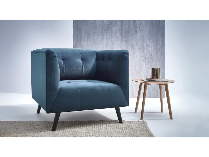 fauteuil paris kronos 4 bleu canard vente de bobochic. Black Bedroom Furniture Sets. Home Design Ideas