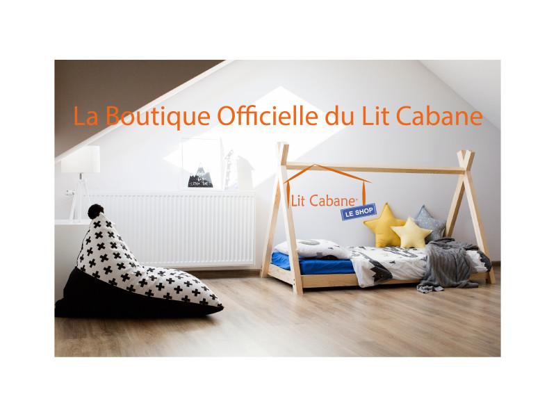 lit tipi montessori 70x160 en pin massif sommier collection apache vente de litcabane shop. Black Bedroom Furniture Sets. Home Design Ideas